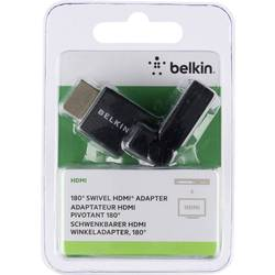 HDMI TV, monitor adaptér Belkin F3Y039bt, čierna
