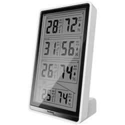 Bezdrôtový teplomer a vlhkomer Techno Line Temperaturstation WS 7060 , biela, čierna
