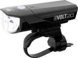 Image of Cateye Fahrrad-Scheinwerfer GVOLT20 HL-EL350G LED (einfarbig) batteriebetrieben Schwarz