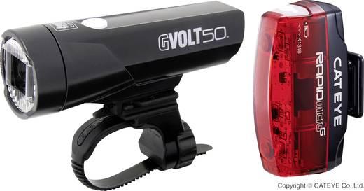 cateye fahrradbeleuchtung set gvolt50 rapid micro g led. Black Bedroom Furniture Sets. Home Design Ideas