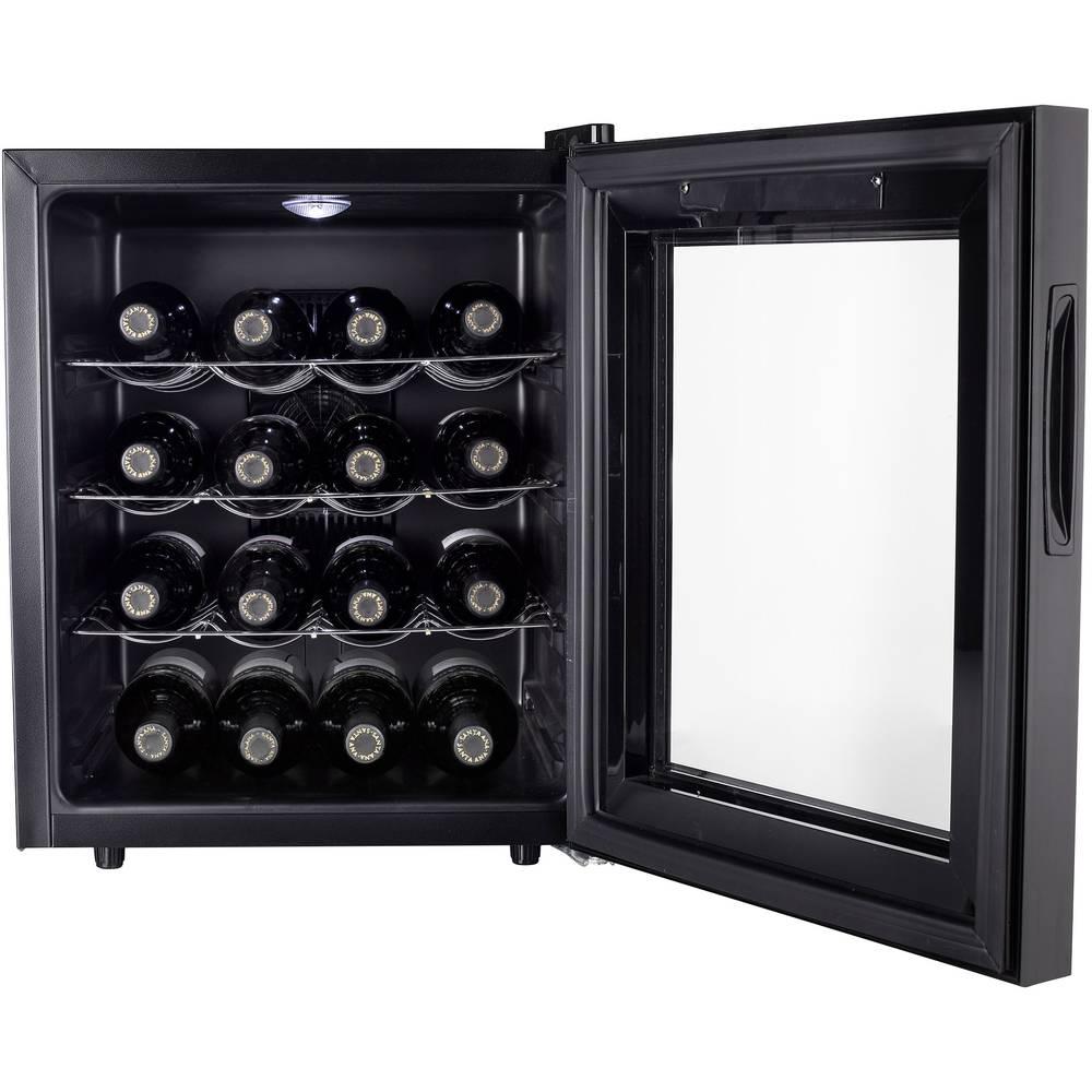 cave vin r frig r e 48 l tristar wr 7516 a noir sur le site internet conrad 1561900. Black Bedroom Furniture Sets. Home Design Ideas