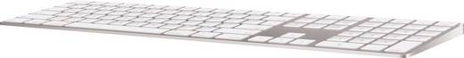 Apple Keyboard mit numerischer Tastatur - CH Bluetooth-Tastatur Weiß mit numerischer Tastatur, Wiederaufladbar