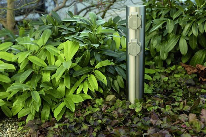 Gartensteckdosen für Strom im Freien