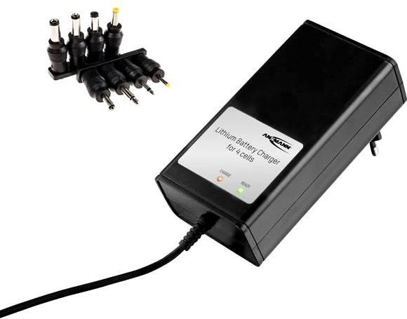 6fach Li ion Schnell Ladegerät passend für 1 6 Stück 10440