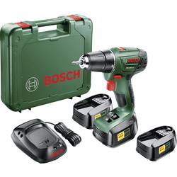 Aku vŕtací skrutkovač Bosch Home and Garden PSR 1800 LI-2 06039A3102, 18 V, 1.5 Ah, Li-Ion akumulátor