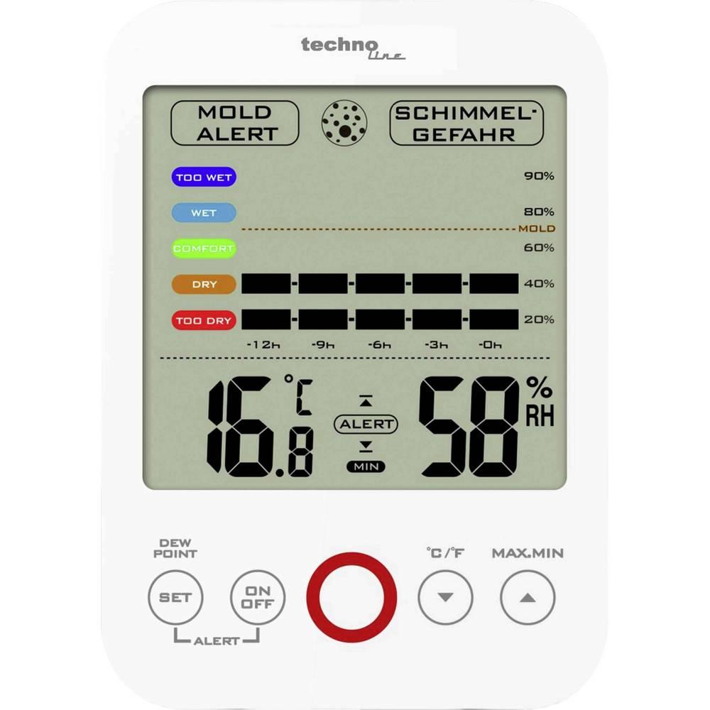 appareil de mesure de l 39 humidit de l 39 air techno line ws 9422 etalonnage d 39 usine sans. Black Bedroom Furniture Sets. Home Design Ideas