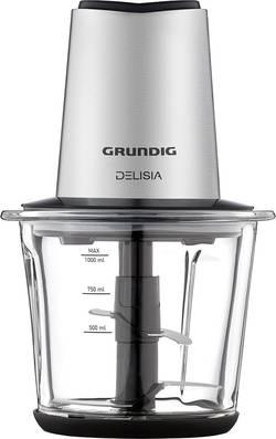 Struhadlo Grundig CH 8680, 800 W, nerezová ocel, černá