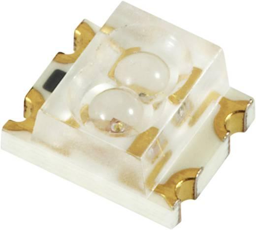 SMD-LED mehrfarbig 1206 Grün, Rot 50 mcd, 27 mcd 60 ° 20 mA 2.1 V, 2 V Everlight Opto 11-22SDRSYGC/S530-A3/E2/TR8