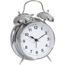 Quartz budík Techno Line Model DGW Model DGW, časov budenia 1, strieborná