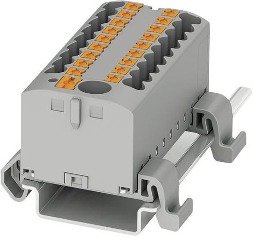 Verteilerblock  PTFIX 6/12X2,5-NS35A BU Phoenix Contact Blau Inhalt: 8 St.
