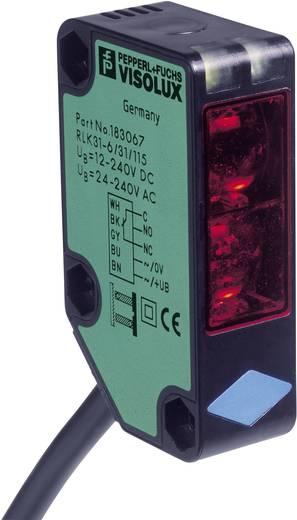 Reflexions-Lichtschranke RLK31-54/25/31/115-15M SET Pepperl & Fuchs hellschaltend, Polarisationsfilter 12, 24 - 240, 24