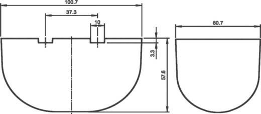 Radar-Bewegungsmelder 1 St. RaDec-M 12, 12 - 36, 28 V/DC, V/AC (L x B x H) 57.6 x 100.7 x 60.7 mm