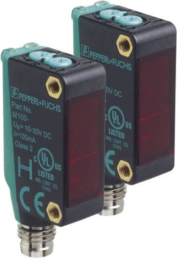 Einweg-Lichtschranke M100/MV100-RT/76a/95/103 Pepperl & Fuchs hellschaltend, dunkelschaltend, Umschalter (Hell-EIN/Dunkel-EIN) 10 - 30 V/DC 1 St.