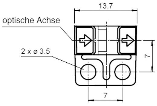Gabel-Lichtschranke GL5-J/43a/115 Pepperl & Fuchs hellschaltend, dunkelschaltend 5 - 24 V/DC 1 St.
