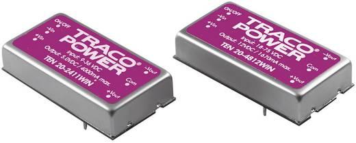 DC/DC-Wandler, Print TracoPower TEN 20-2422WIN 24 V/DC 12 V/DC, -12 V/DC 835 mA 20 W Anzahl Ausgänge: 2 x