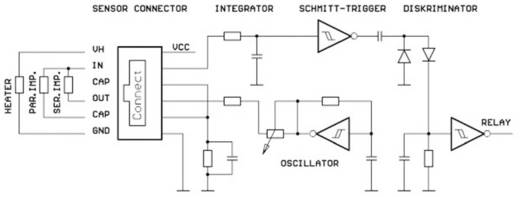 Leakagesensor 1 St. Regen-/Schnee-/Leckagefühler B+B Thermo-Technik (L x B) 70 mm x 54 mm