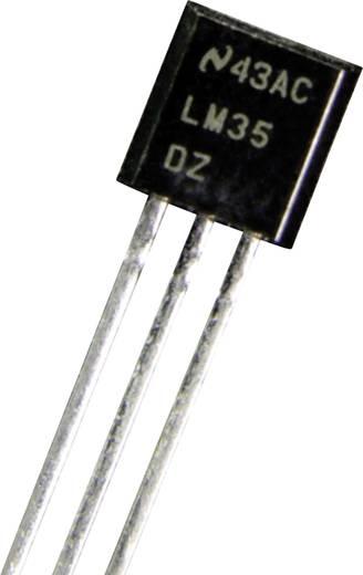 Temperatursensor B+B Thermo-Technik LM 35 DZ 0 bis +100 °C THT radial bedrahtet