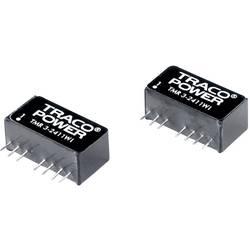 DC / DC menič napätia, DPS TracoPower TMR 3-2422WI, 24 V/DC, 12 V/DC, -12 V/DC, 125 mA, 3 W