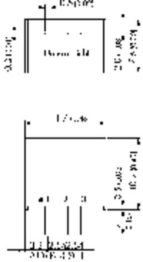 DC/DC-Wandler, Print TracoPower TSR 1-2425 24 V/DC 2.5 V/DC 1 A 100 W Anzahl Ausgänge: 1 x