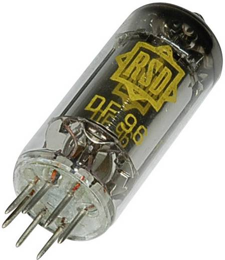Elektronenröhre DF 96 = 1 AJ 4 Pentode 120 V 1.65 mA Polzahl: 7 Sockel: Miniatur Inhalt 1 St.