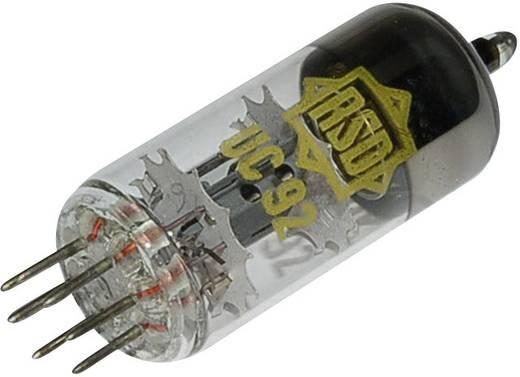 Elektronenröhre UC 92 = 9 AB 4 Triode 100 V 3 mA Polzahl: 7 Sockel: Miniatur Inhalt 1 St.