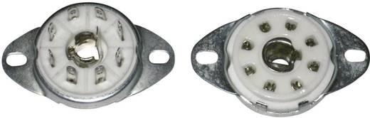 Röhrenfassung 1 St. 156848 Polzahl: 8 Sockel: Loktal Montageart: Chassis Material:Keramik