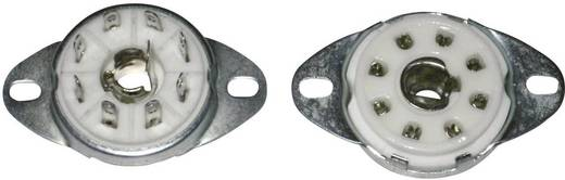 Röhrensockel 1 St. 156848 Polzahl: 8 Sockel: Loktal Montageart: Chassis Material:Keramik