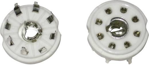 Röhrenfassung 1 St. 156849 Polzahl: 8 Sockel: Loktal Montageart: Print Material:Keramik