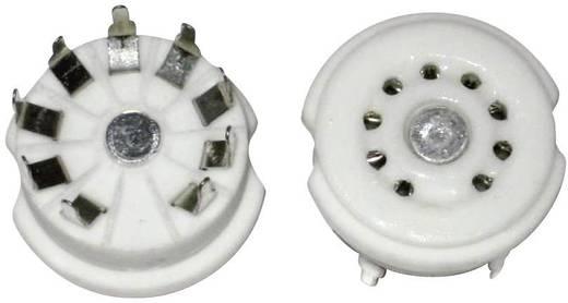 Röhrensockel 1 St. 156850 Polzahl: 9 Sockel: Noval Montageart: Print Material:Keramik