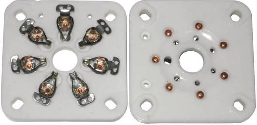 Röhrenfassung 1 St. 156851 Polzahl: 7 Sockel: Septar Montageart: Chassis Material:Keramik