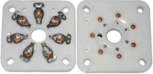 Röhrensockel 1 St. 156851 Polzahl: 7 Sockel: Septar Montageart: Chassis Material:Keramik