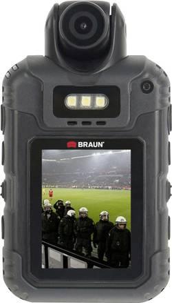 Image of Braun Germany BCX5 Bodycam Full-HD, IR-Nachtsichtmodus, Wasserfest