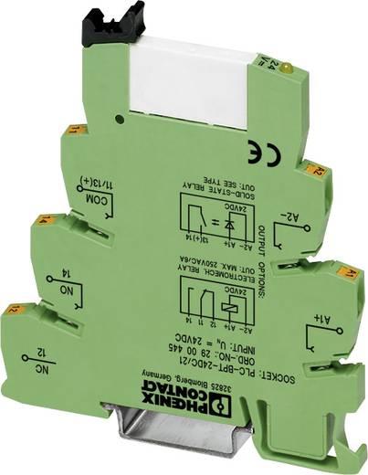 Interfacerelais 10 St. 24 V/DC, 24 V/AC 6 A 1 Wechsler Phoenix Contact PLC-RPT- 24UC/21
