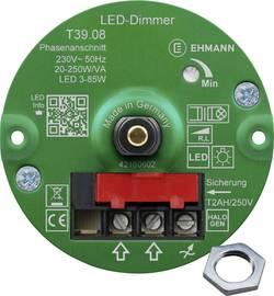 Image of Ehmann 3960c0810ch Unterputz Dimmer Geeignet für Leuchtmittel: Glühlampe, Halogenlampe, LED-Lampe Weiß