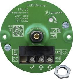 Image of Ehmann 4660c0310ch Unterputz Dimmer Geeignet für Leuchtmittel: Glühlampe, Halogenlampe, LED-Lampe Weiß