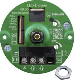 Image of Ehmann 4660c0810ch Unterputz Dimmer Geeignet für Leuchtmittel: Glühlampe, Halogenlampe, LED-Lampe Weiß