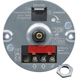 Image of Ehmann 4660c0010ch Unterputz Dimmer Geeignet für Leuchtmittel: Glühlampe, Halogenlampe Weiß