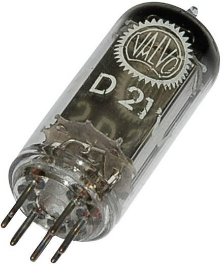 Elektronenröhre PL 21 = 2 D 21 Thyratron 650 V 500 mA Polzahl: 7 Sockel: B7G Inhalt 1 St.