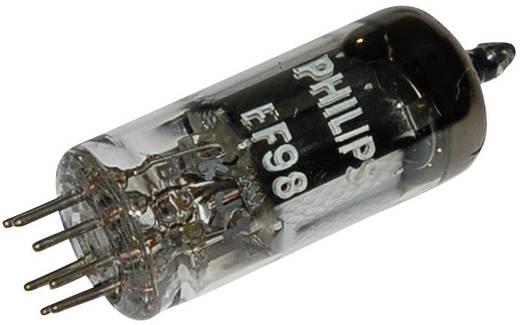 Elektronenröhre EF 98 Pentode 25 V 2.2 mA Polzahl: 7 Sockel: Miniatur Inhalt 1 St.