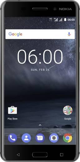 Nokia 6 LTE-Dual-SIM Smartphone 14 cm (5.5 Zoll) Octa Core 32 GB 16 Mio. Pixel Android™ 7.1 Nougat Schwarz