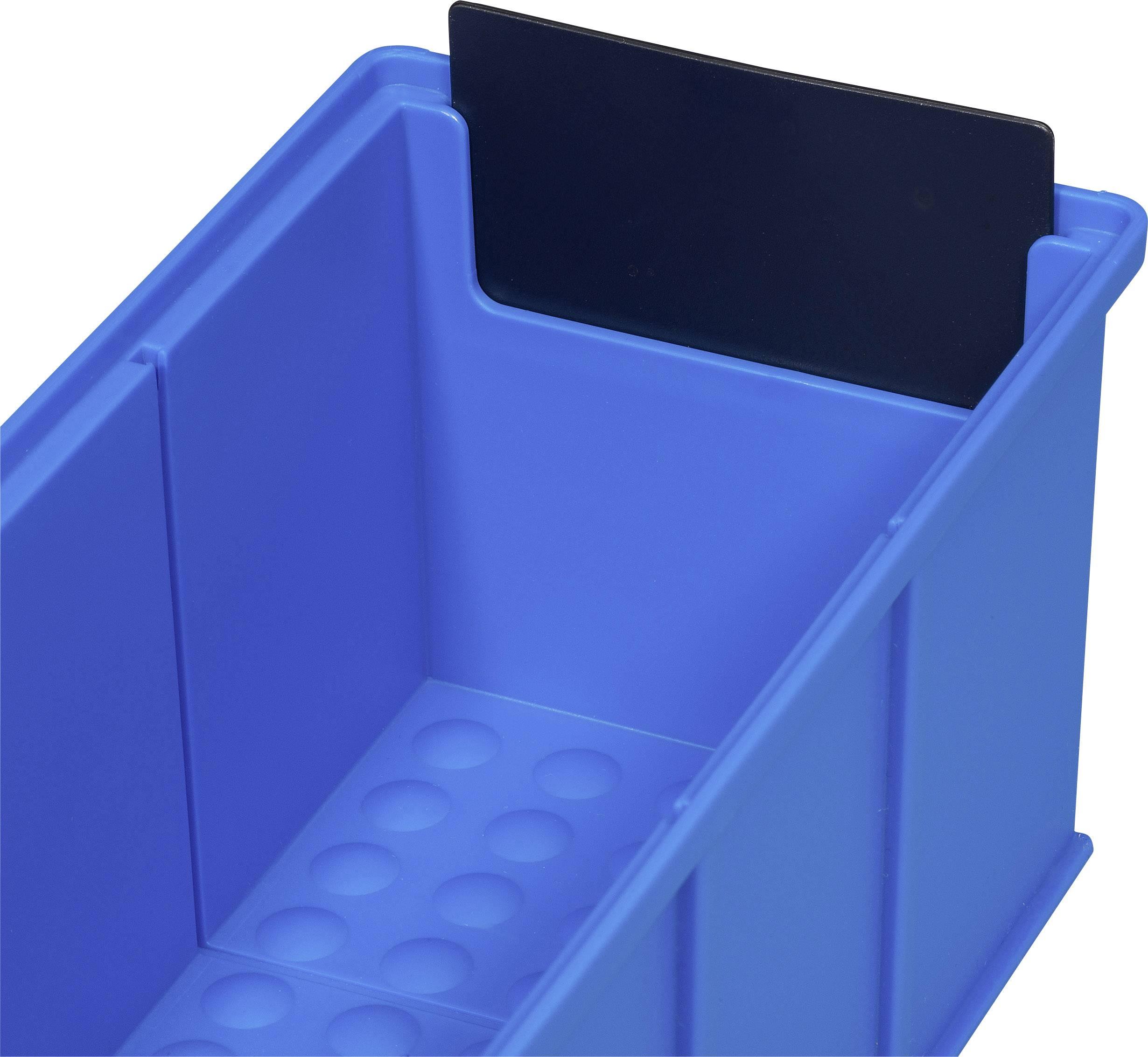 Allit Stapelsichtboxen ProfiPlus Box 2-10,2 x 16 x 7,5 cm gelb