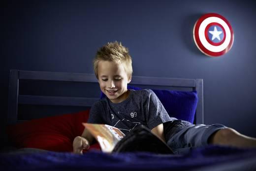 led wandleuchte the avengers captain america led led fest eingebaut philips lighting 7194032p0. Black Bedroom Furniture Sets. Home Design Ideas