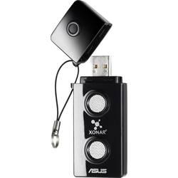2.0 externí zvuková karta Asus Xonar U3 digitální výstup, externí konektor na sluchátka