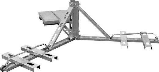 A.S. SAT 32600 SAT-Dreibeinstativ Passend für Spiegelgröße: bis 60 cm Neigbar Silber
