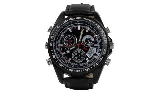 Armbanduhr mit Überwachungskamera