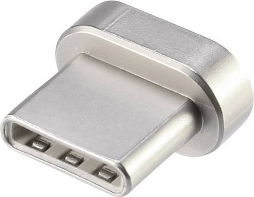 renkforce zusatz usb c stecker f r magnetsafe kabel. Black Bedroom Furniture Sets. Home Design Ideas
