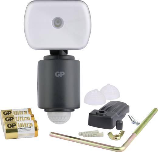 Außenstrahler mit Bewegungsmelder Neutral-Weiß GP Batteries RF3.1 ...