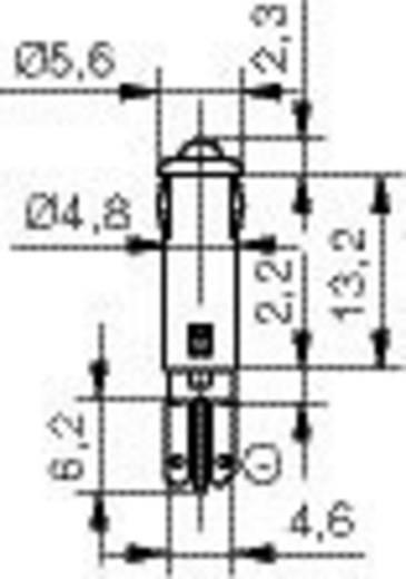 LED-Signalleuchte Rot 12 V/DC Signal Construct SKRD05002