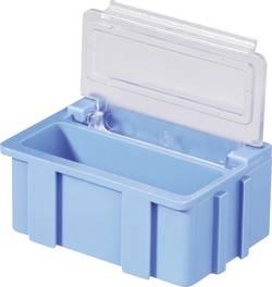 Boîte SMD Licefa SMD BOX N2 N22321 blanc (L x l x h) 37 x 12 x 15 mm Couvercle: transparent 1 pc(s)