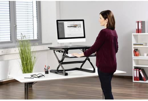 hama schreibtischaufsatz f r flexibles arbeiten im sitzen oder stehen b x h x t 680 x 150 x. Black Bedroom Furniture Sets. Home Design Ideas